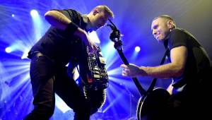 Punkeři Dropkick Murphys napumpovali vyprodanou Malou sportovní halu v Praze neuvěřitelnou energií