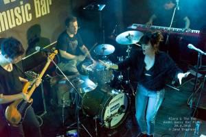Klara And The Pop vystoupili v rámci doprovodného programu filmového festivalu Finále v Plzni