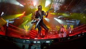 Metalová nadílka v Plzni: V hokejové hale bouřili Judas Priest a Megadeth