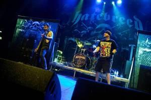 Hardcore zachvátil Palác Akropolis: Hráli Madball a Hatebreed
