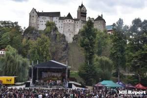 Loket dobyli rockeři a metalisté: Dymytry, Harlej, Arakain nebo Trautenberk rozvášnili fanoušky v podhradí