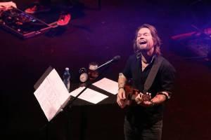 Kryštof v brněnském Sonu hrál, zpíval i odpovídal na zvídavé dotazy. Ty nejlepší odměnil