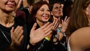 Hurá! Mig 21 zavítali do Brna, ženy všech generací házely po Jiřím Macháčkovi kalhotky