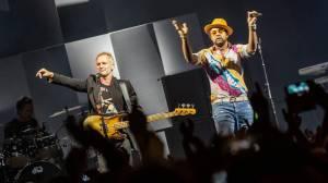 Forum Karlín vidělo neobvyklé spojení: Se Stingem pobíhal na pódiu reggaeman Shaggy