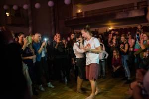 Tomáš Klus a jeho Cílová skupina odehráli první ostravský koncert turné SpOlu zvesela