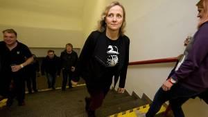 Tři sestry křtili Svobodu ředkvičkám, v Malé sportovní hale obdrželi Zlatou desku