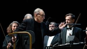 Ennio Morricone slavil ve vyprodané O2 areně devadesátiny