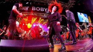 Rocksymphony v Brně spojila rockové evergreeny s orchestrem. Zpívali Noid a Marta Jandová