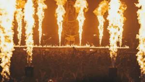 Parkway Drive ve Foru Karlín zapálili vše, co se dalo
