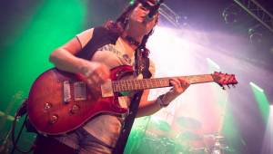 Gaia Mesiah křtila desku s energií sobě vlastní: Marky Rybin byl plný Lucerna Music Bar