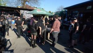 Barevné účesy, punk a teplé počasí: Číro Fest v první den rozhýbali SPS, Streetmachine nebo Vychcaný knedlíky