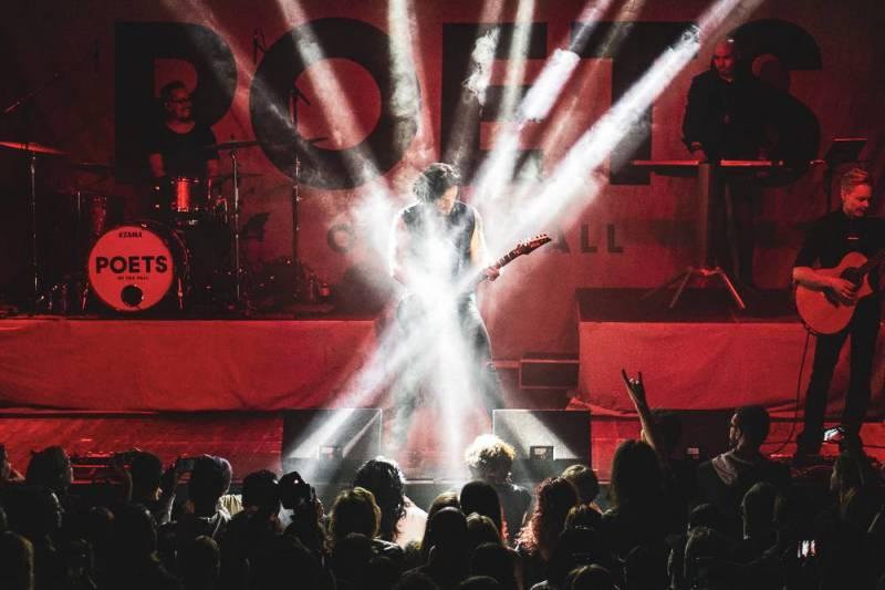 Poets Of The Fall očarovali své publikum v rámci Ultraviolet Tour