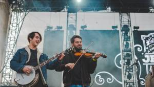 Na Pražském Majálesu si po třech letech zahráli Kryštof, Marek Ztracený měl koncert v metru
