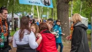 Plzeňský Majáles zlobily rozmary počasí, Kryštof přivezl malý Strahov, zahráli i Mirai nebo Marek Ztracený