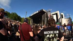 Metalfest v Plzni gradoval za pekelného počasí. Zahráli Arch Enemy, Almanac i Korpiklaani