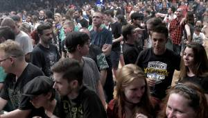 Dropkick Murphys po roce opět v Praze: Tipsport arénu rozpálili punkovou smrští