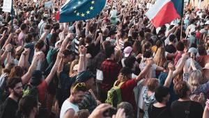 Na Letné byl velký koncert, na který přišlo 280 tisíc lidí. Tak jsme byli u toho!