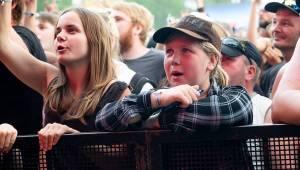 Finští Lordi předvedli na Pekelném ostrově v Holýšově hororovou show. Hráli i Škwor, Traktor nebo Dymytry