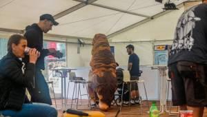 Hvězdami propršeného druhého dne Mighty Sounds byli Turbonegro a Dog Eat Dog