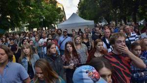 Živá ulice v Plzni: Monika Načeva, Michal Pavlíček, Michal Ambrož nebo Lenka Dusilová oslavovali svobodu