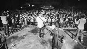 Na největším koncertu kapely Poletíme? zaznělo 40 písniček