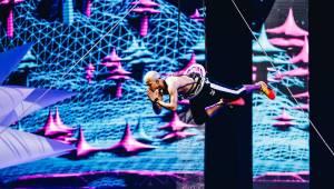 Ben Cristovao v O2 areně létal. Jeho show byla plná překvapení
