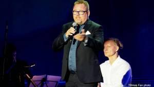Haně Hegerové ve Foru Karlín gratulovali Lucie Bílá, Štefan Margita, Hana Zagorová a další