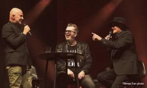 Richard Müller, Michael Kocáb a Ondřej Soukup se ve Foru Karlín vrátili do penzionu Svět