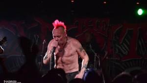 The Exploited rozpoutali v Praze punkové šílenství