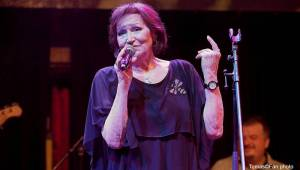 Marta Kubišová zpívala s vyprodanou Lucernou Modlitbu pro Martu