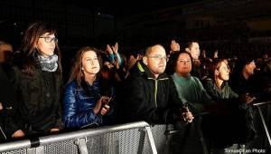 Evolucie v Jihlavě: Vyprodaný Horácký stadion zpíval s Lucií její největší hity