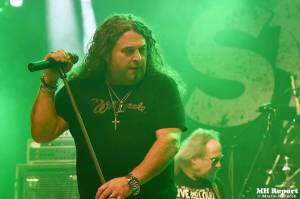 Vánoční metalový večírek v plzeňské Šeříkovce: vystoupili Ingott, Excalibur a Storm