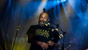 První koncert s fanoušky. Pipes and Pints zahráli v Malé sportovní hale