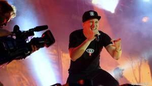 Marpo předvedl v Ostravě unikátní show. Koncert se konal uvnitř i venku