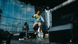 Ben Cristovao vystoupil v rámci Lucerna Music Bar Open Air na pražském Výstavišti