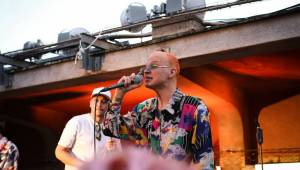 Zpěvák 7krát3 pokřtil na Střeše Radost debutové album