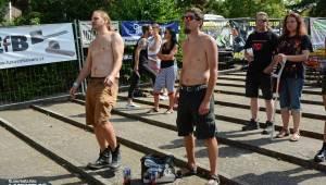 Běsnění na Valníku. Druhý den vystoupily kapely zakázanÝ ovoce, Totální nasazení nebo Znouzectnost