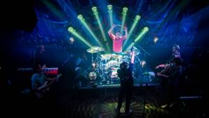 Mig 21 zahráli v Lucerna Music Baru, sledovali je fanoušci z celého světa