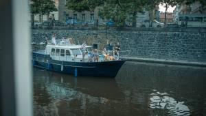 Voxel rozhoupal palubu lodi, zazpíval i dosud nevydanou píseň