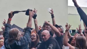 Manětín v sobotu ovládli rockeři. Zahráli Arakain, Krucipüsk, Gaia Mesiah nebo Cocotte Minute