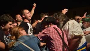 Trautenberk dobyli plzeňský pivovar, fanoušci zbourali zábrany