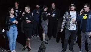 Punkový rej v Modré Vopici: zahráli WOSA, Apple juice, Čára, Resumé i RV-4