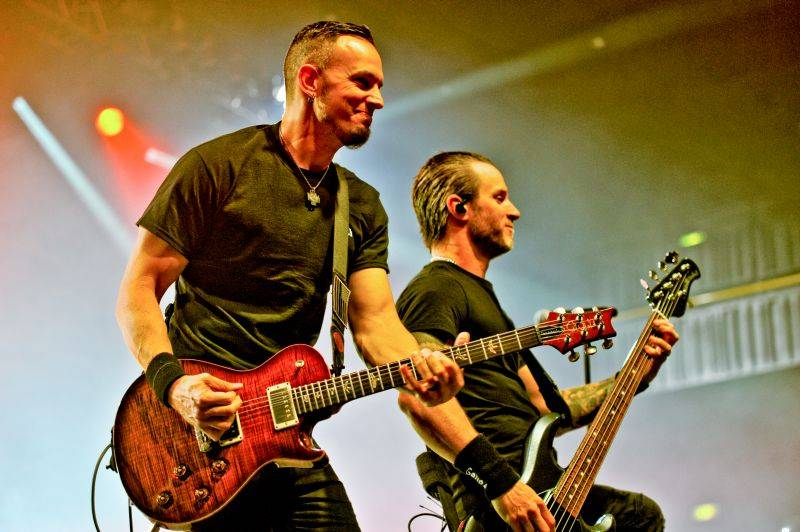 LIVE: Alter Bridge ve Foru Karlín vynikali muzikantskou precizností