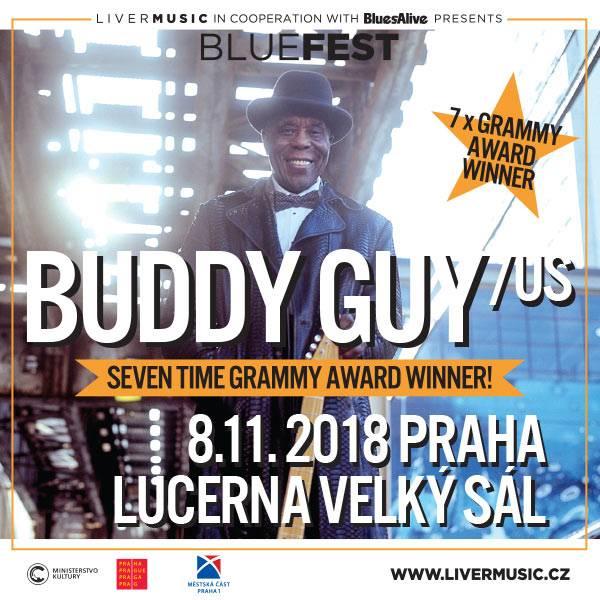 Lucerna zažije setkání bluesových králů, světového a českého. Vystoupí Buddy Guy a Luboš Andršt