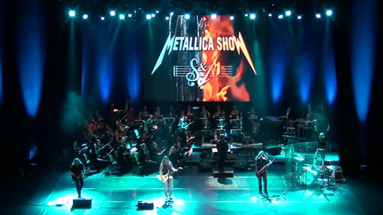 Metallica S&M Tribute Show ovládne Forum Karlín, metal se propojí se symfonickým orchestrem