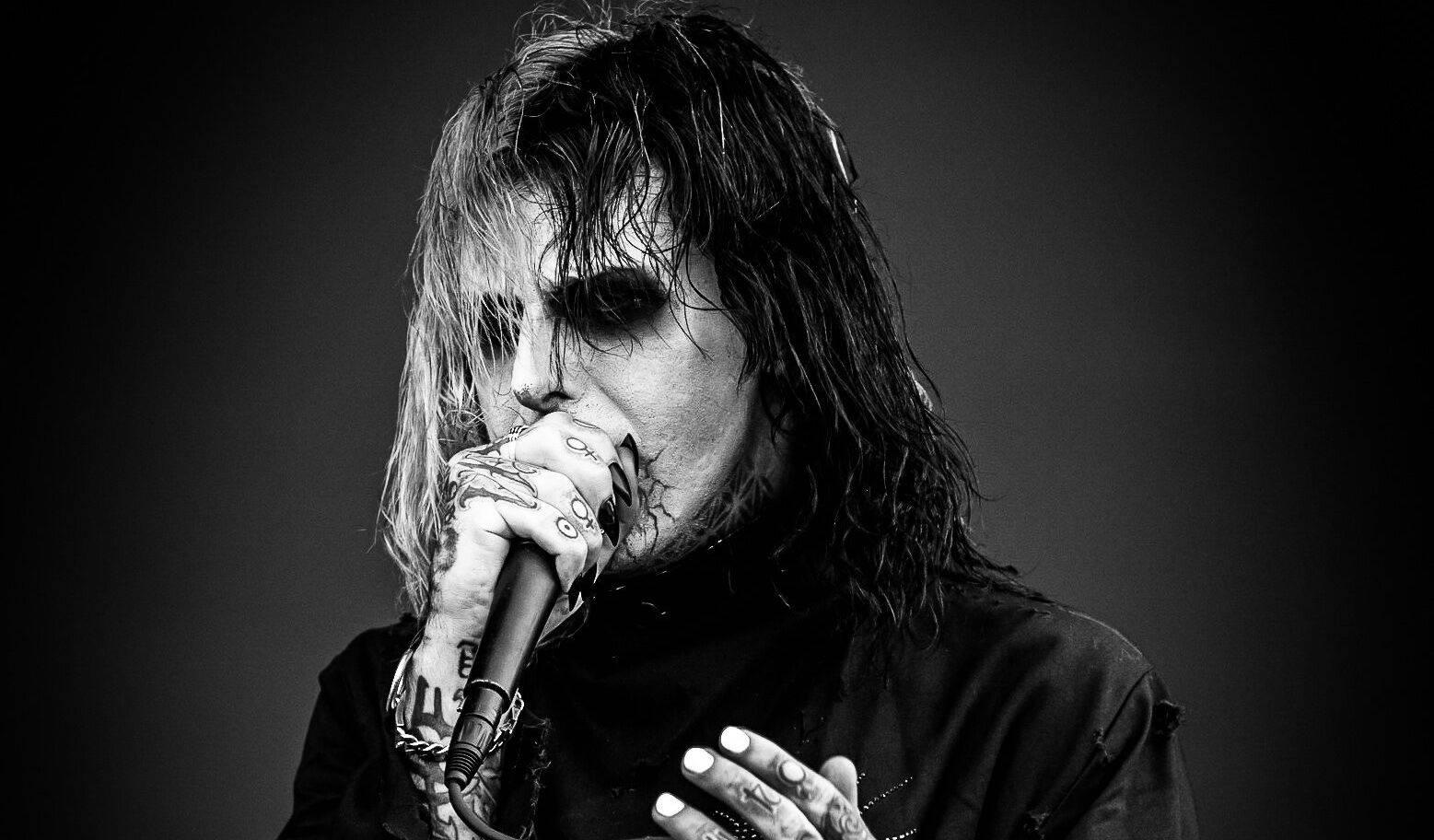 Temný rapper Ghostemane vystoupí ve Foru Karlín. Chystá hororovou show