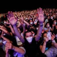 V Barceloně se o víkendu konal koncert pro 5 tisíc lidí