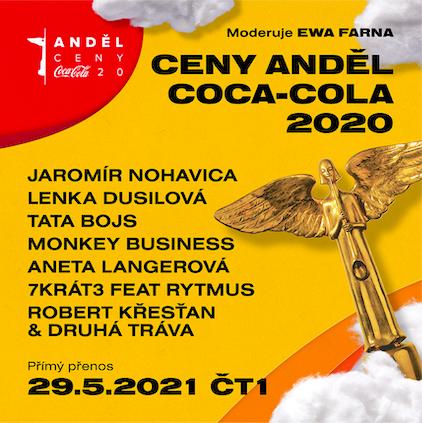 Andělé slaví třicítku. Pořadem provede Ewa Farna, vystoupí Lenka Dusilová, Jaromír Nohavica nebo 7krát3 s Rytmusem