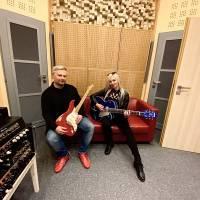 ROCK BLOG | Evžen Hofmann: Natáčení singlu Sunlight v nahrávacím studiu Taurus Records