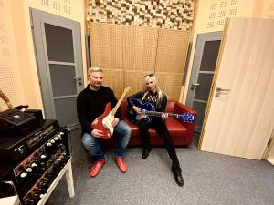 ROCK BLOG   Evžen Hofmann: Natáčení singlu Sunlight v nahrávacím studiu Taurus Records